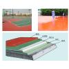 供应室外篮球场地塑胶地板新型材料硅PU/天津塑胶地板专业施工