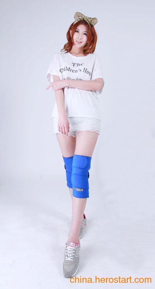 供应【包邮大促护膝一对装】正品自发热护膝托玛琳护膝保暖风湿关节