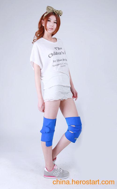 供应疯抢价托玛琳自发热护膝 磁疗远红外对抗风湿护膝