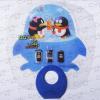 供应精致O型广告扇筷子扇定制/PP新料回料中柄扇订做/一元以下派发赠品