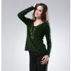 供应2013冬季 女式V领 貂绒衫 打底衫 貂绒毛衣针织衫