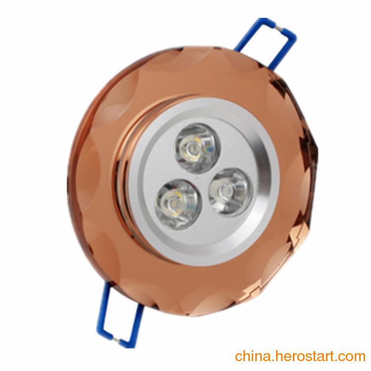 供应LED水晶天花射灯