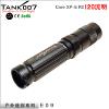 供应高端品牌 LED强光手电筒 夜骑手电筒 E09
