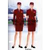 供应航空工作服,短袖外套加裙子,高档航空服定制