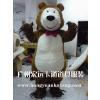 供应卡通动物服装/卡通人偶服装/演出道具 长毛熊