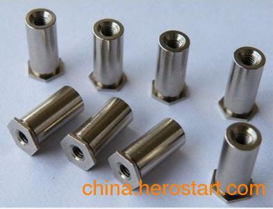供应压铆螺柱压铆螺母非标件异型加工价格