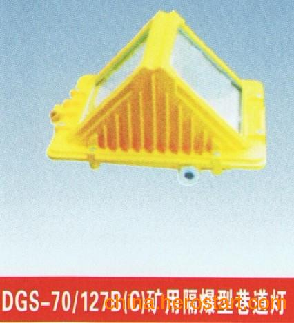 供应DGC70/127(C)矿用隔爆型巷道灯