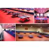 供应天津塑胶运动地板专卖天津塑胶地板厂家PVC塑胶地板专业铺设乒乓球台专用地板