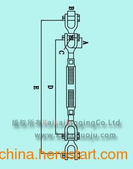 供应高强度防风螺旋扣