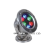 供应LED全彩水底灯LED七彩水底灯LEDRGB水底灯