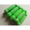 供应撕不破橡塑海绵管 耐撕耐磨橡塑把套 磨砂面橡塑管