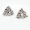 供应沁心珠宝首饰批发 厂家直销 简单大方 饰品耳钉 925纯银