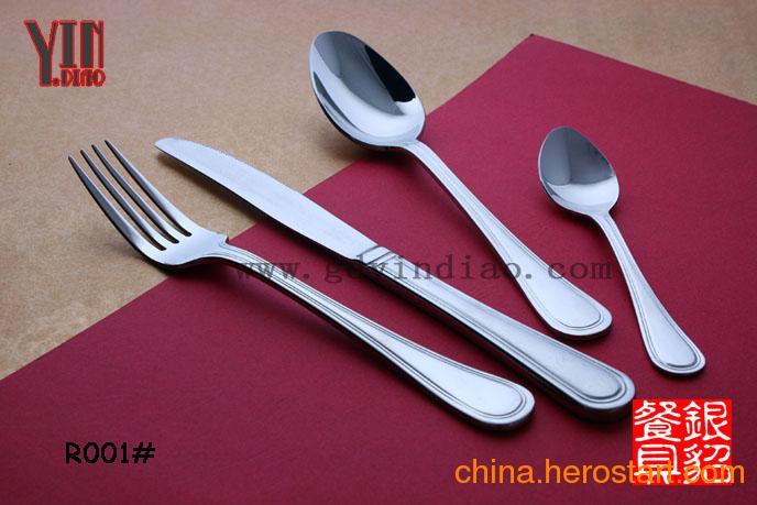 供应R001 温莎日本出口系列不锈钢刀叉勺 西餐刀叉餐具