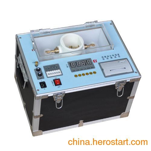 供应GWIIJ-80kV绝缘油介电强度测试仪