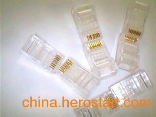 供应清华同方RJ45水晶头(超5类数据)玉门(布线)报价