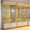 供应福建厦门精品展柜 钛合金展柜玻璃展柜 化妆品展柜柜台