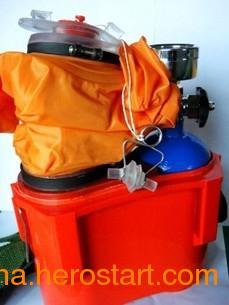 供应ZYX45隔绝式压缩氧自救器,45分钟压缩氧自救器,煤矿井下用