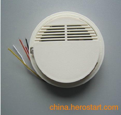 供应五线烟感SS-168P有线光电烟感器烟感探测器感烟报警器联网烟感器