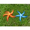 供应海乐园  仿真海洋玩具 海星  红蓝两色
