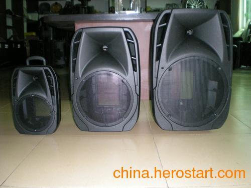 供应专业音箱塑料箱体 拉杆电瓶音箱塑料箱体