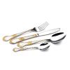 供应【Os021】向阳花款式 不锈钢餐具 西餐具刀叉勺 餐具套装