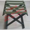 供应重庆市军绿色铁马扎板凳