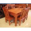 红木餐桌-大果紫檀家具批发-汉宫餐桌供应