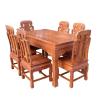 供应实木家具-花梨木家具批发-福禄寿餐桌厂家直销