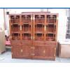 供应厂家直销-非洲黄花梨木家具-明轩书柜批发-东阳