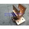 供应电镀线电镀导电铜头 铜导电块 铜飞巴头