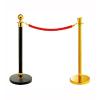 供应惠州活动加厚围栏 不锈钢伸缩一米线批发 商场钛金挂绳式护栏报价