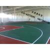 供应专业硅pu、人造草坪篮球场地围网施工翻新