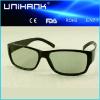 供应高档立体眼镜,3D眼镜,[专例产品]影院版线偏光黑色783D