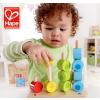 供应德国hape儿童玩具  数字堆堆乐木制渐变串珠分类优质荷木超光滑宝宝益智早教智力