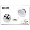 供应8寸筒灯外壳   LED灯具外壳配件 商场用LED筒灯