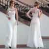 供应白色婚纱礼服 多丽琦晚礼服 厂家诚招外贸淘宝拍拍网店代理一件代发