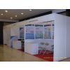 供应北京会展展位搭建,玻璃展柜出租