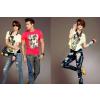 供应哈尔滨韩版牛仔裤加盟,泰玛斯变色牛仔100%服务全国!