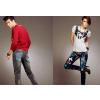 供应长沙韩版牛仔裤加盟,泰玛斯变色牛仔100%服务全国!