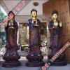 供应要以虔诚的态度跪拜铜佛像