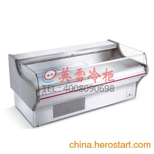 供应深圳宝安生鲜肉柜,深圳什么地方卖冰柜,深圳冰柜,超市猪肉保鲜柜