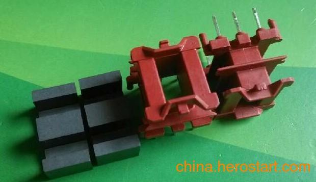 供应高频变压器EE20加宽磁芯+加宽骨架立式3+3 双槽