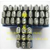 雕龙供应进口德国Q牌钢字码 钢字唛 原装进口