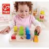 供应hape玩具 1-2岁宝宝益智渐变拼拼乐环保水性漆早教智力