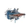 供应新型胶辊连续式玻璃喷砂机打砂机