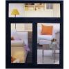 供应塑钢门窗  彩铝门窗  塑钢门窗制作  和谐门窗