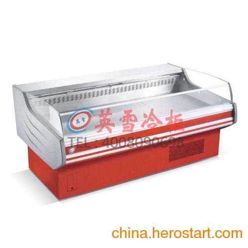 供应深圳冰柜超市标准生鲜肉柜,龙华鲜肉柜猪肉柜,超市食品保鲜柜