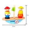 供应hape玩具 翘翘船优质荷木创意平衡游戏2-3岁宝宝益智早教智力木制