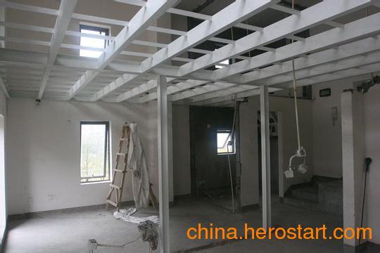 供应北京专业做体育场馆钢结构挑高钢混隔层 房屋阁楼