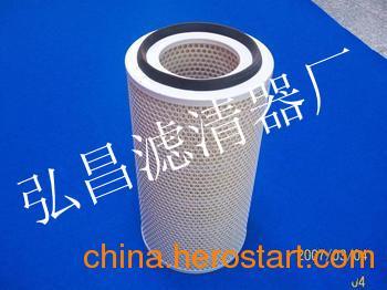供应空气压缩机管路除尘滤芯除尘滤筒